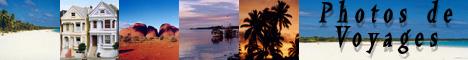 Photos de voyages dans le Pacifique sud, aux USA et en France.